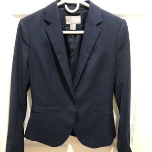 Navy blue blazer H & M